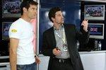 Mark Webber (Red Bull) und Patrick Dempsey