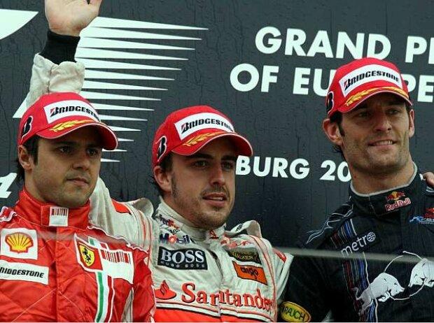 Siegerehrung in Deutschland 2007
