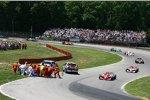 Bergungsarbeiten Marco Andretti Andretti Green