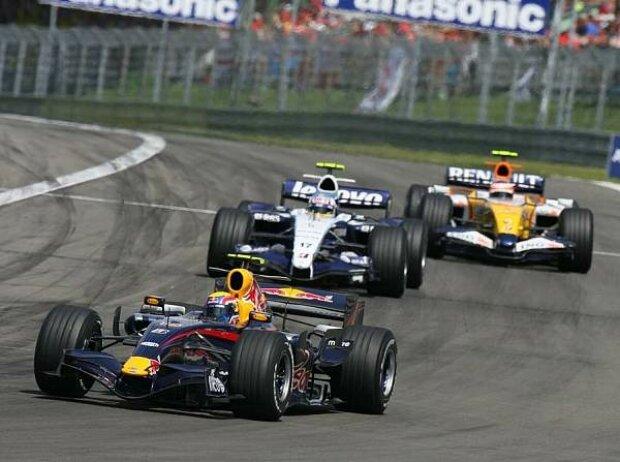 Mark Webber vor Alexander Wurz