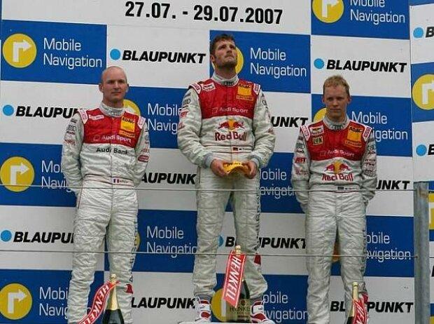 Alexandre Prémat, Martin Tomczyk, Mattias Ekström