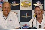 Dan Davis (Ford) und Paul Newman (rechts)
