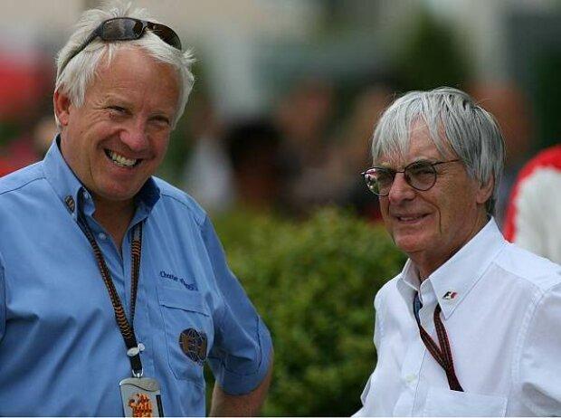 Charlie Whiting und Bernie Ecclestone