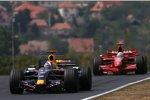 David Coulthard (Red Bull) vor Felipe Massa (Ferrari)