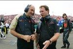 Franz Tost (Teamchef) (Toro Rosso) und Christian Horner (Teamchef) (Red Bull)