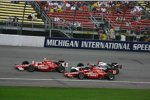 Scott Dixon Dan Wheldon Tomas Scheckter