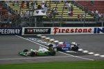 Tony Kanaan Marco Andretti