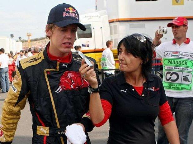 Sebastian Vettel und Fabiana Valenti