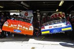 Die Autos von David Ragan und Robby Gordon