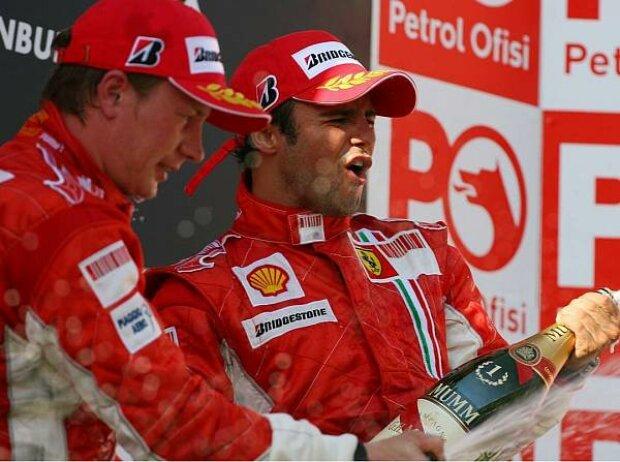 Felipe Massa und Kimi Räikkönen