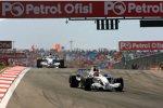 Robert Kubica vor Nick Heidfeld (BMW Sauber F1 Team)