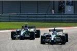 Rubens Barrichello und Jenson Button (Honda F1 Team)