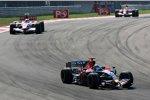 Vitantonio Liuzzi (Toro Rosso) und Anthony Davidson (Super Aguri)
