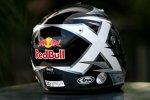 David Coulthard (Red Bull) gedenkt mit seinem Helmdesign dem tödlich verunglückten Colin McRae