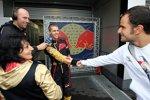 Sebastian Vettel und Vitantonio Liuzzi (Toro Rosso)