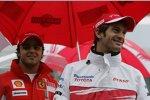 Felipe Massa (Ferrari) und Jarno Trulli (Toyota)