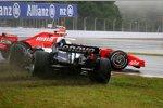 Alexander Wurz (Williams) und Felipe Massa (Ferrari)