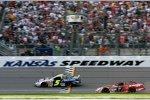 Kyle Busch gewinnt das Busch-Rennen vor Matt Kenseth