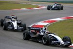 Alexander Wurz und Nico Rosberg (Williams)