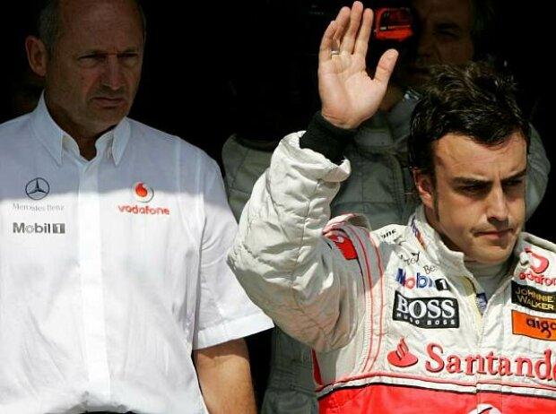 Ron Dennis und Fernando Alonso