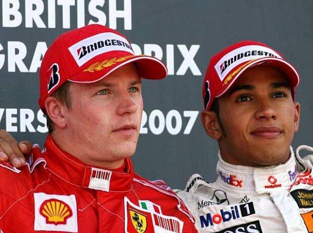 Lewis Hamilton Kimi Räikkönen