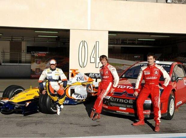 Heikki Kovalainen, Sébastien Loeb, Daniel Sordo