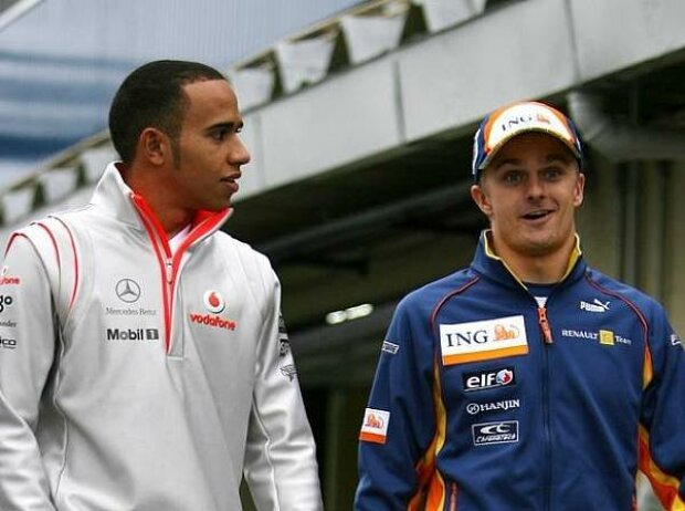 Lewis Hamilton, Heikki Kovaleinen