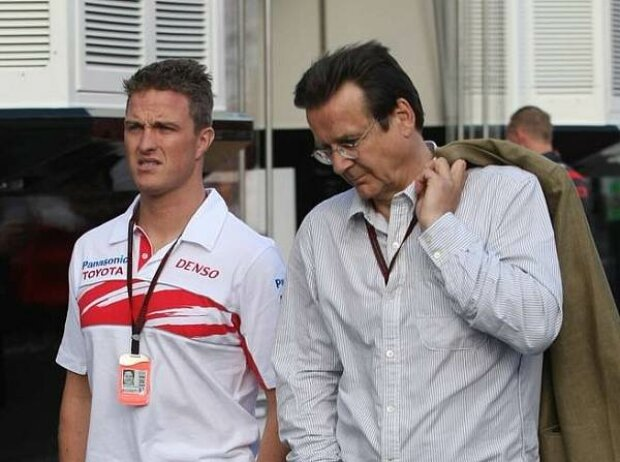 Ralf Schumacher und Hans Mahr