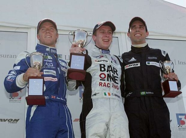 Sam Bird, Niall Breen und Alberto Valerio