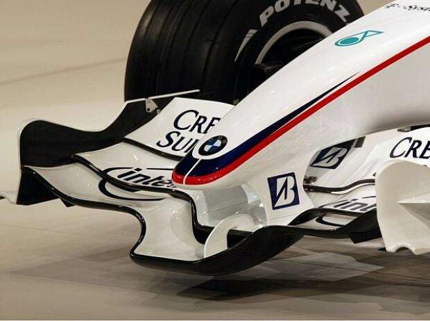 Frontflügel des BMW Sauber F1.08