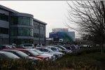 Das Teambasis von Honda in Brackley