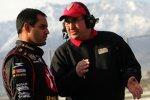 Juan Pablo Montoya mit Crew-Chief Donnie Wingo