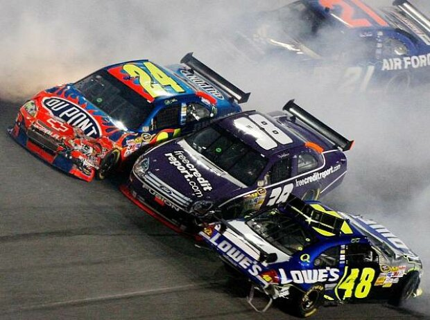 Daytona Training Unfall Crash