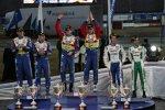 Jari-Matti Latvala Mikko Hirvonen Gigi Galli (Ford) (Stobart)