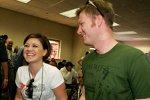 2006: Dale Earnhardt Jun. mit Kelly Clarkson