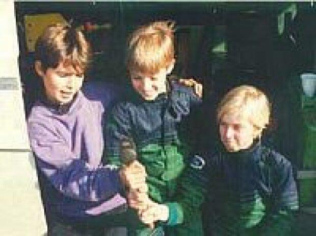 Lucas Luhr, Nick und Sven Heidfeld