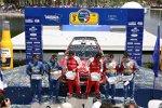 Chris Atkinson Jari-Matti Latvala Sébastien Loeb (Ford)