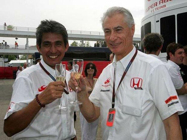 Aguri Suzuki und Daniele Audetto