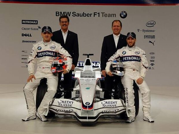 Präsentation des BMW Sauber F1.08