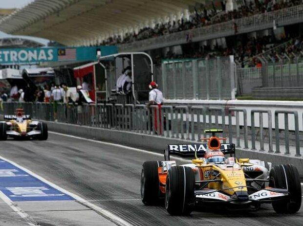 Fernando Alonso Nelson Piquet Jr.