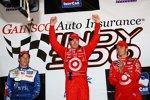 Marco Andretti Scott Dixon Dan Wheldon