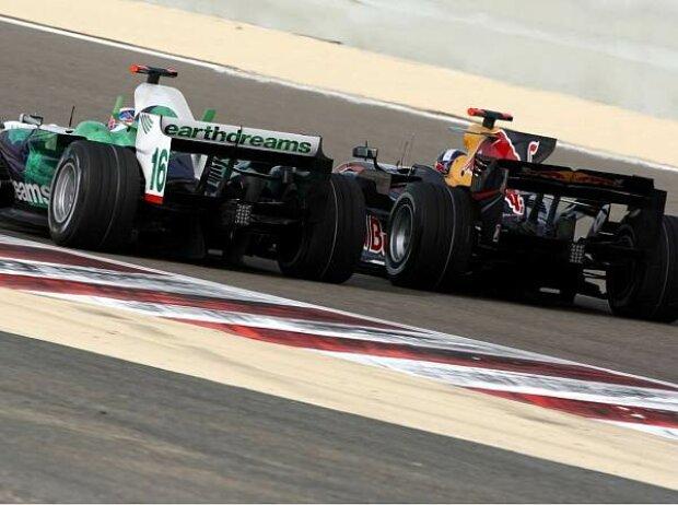 Jenson Button; David Coulthard