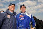 Kris Nissen und Carlos Sainz Volkswagen