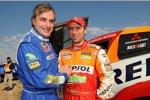 Carlos Sainz und Stépahen Peterhansel