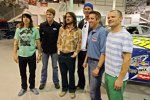 2006: Greg Biffle mit den Red Hot Chili Peppers
