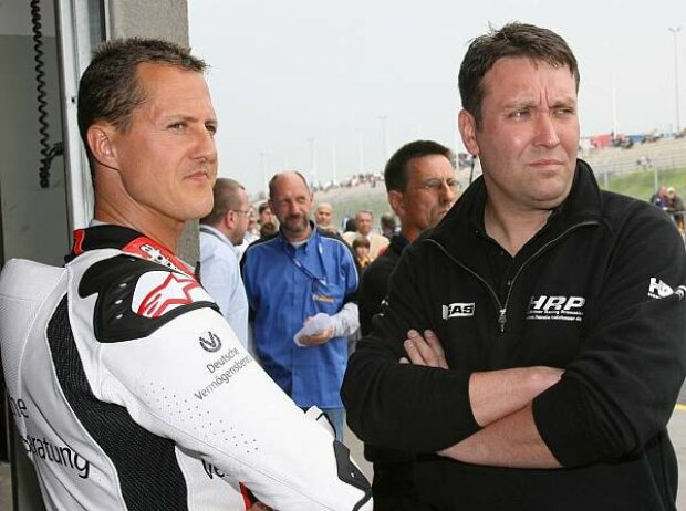 Michael Schumacher und Jens Holzhauer