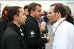 Nicolas Todt und Jacques Villeneuve