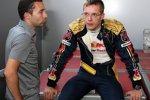 Sébastien Bourdais (Toro Rosso) mit Manager Nicolas Todt