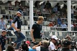 Nico Rosberg (Williams) und Sebastian Vettel (Toro Rosso)