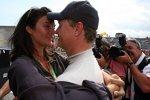 Karen Minier und David Coulthard (Red Bull)